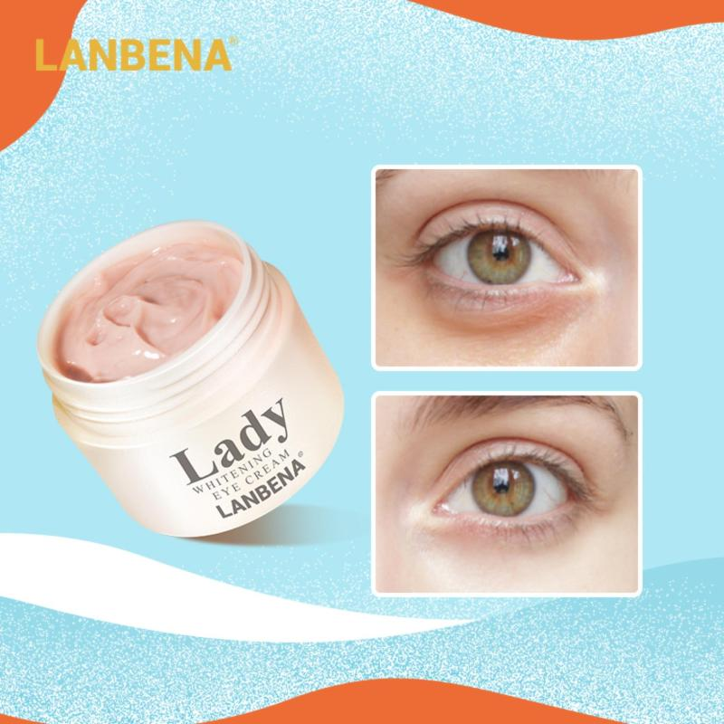 Lanbena อายครีม ลดเลือนริ้วรอยรอบดวงตา สกัดจากเมล็ดองุ่น ยกกระชับผิวหน้า ต่อต้านริ้วรอย Eye Cream 20 กรัม.