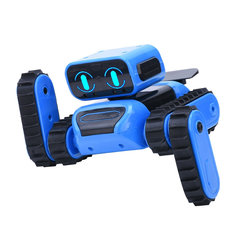 STEM DIY RC Programming Robot with Gesture Sensing Obstacle Avoidance Singing Dancing Robot Toys for Kids