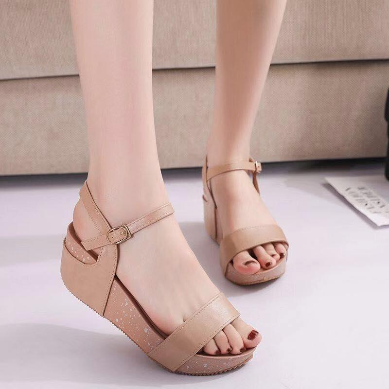 [joan shoes] korean wedge sandals A-9#