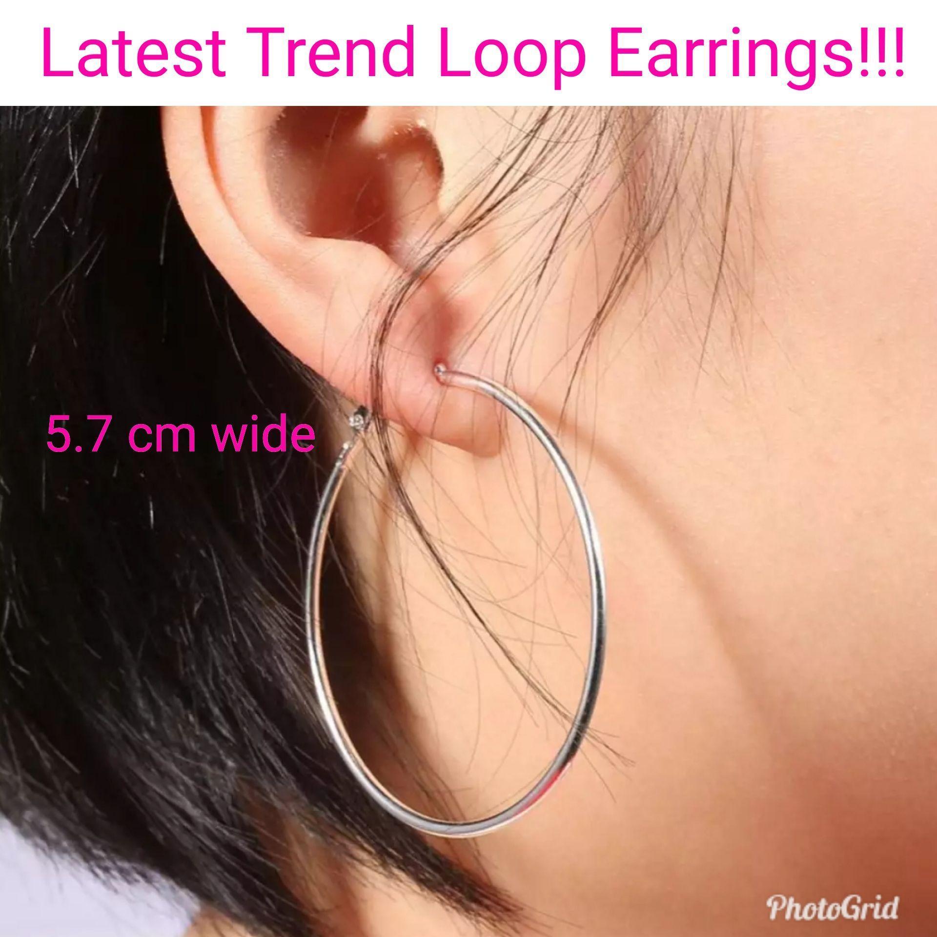 Hoop Earrings Large