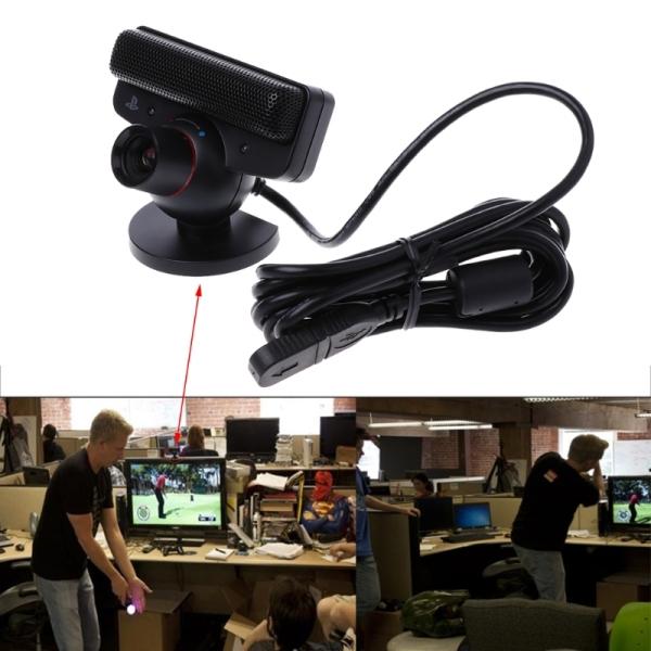 Bảng giá Camera Chơi Game Cảm Biến Chuyển Động Mắt PangYa, Webcam Theo Dõi Mắt Có Micrô Cho Sony Playstation 3 PS3 Hệ Thống Trò Chơi Phụ Kiện Phong Vũ