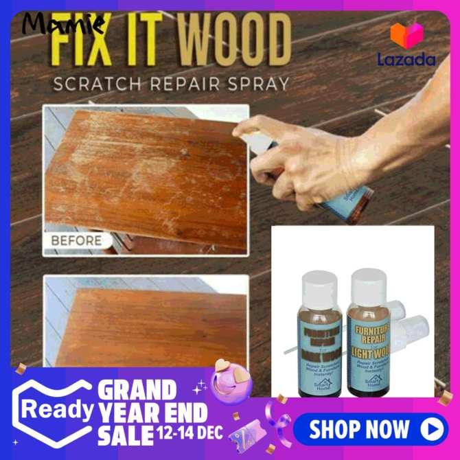 MAMI Wood Repair Kit Furniture Paint Floor Repair Kit Sticks Scratch Fix Glue