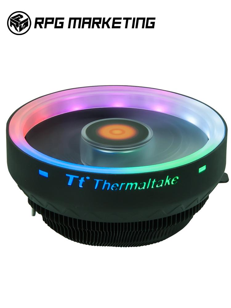 Thermaltake Colorful Pineapple Computer Desktop Cpu Push-Down Radiator Rgb Silent Fan Amd/intel Intel 1155/1151/1150/1366 By Rpg Marketing.