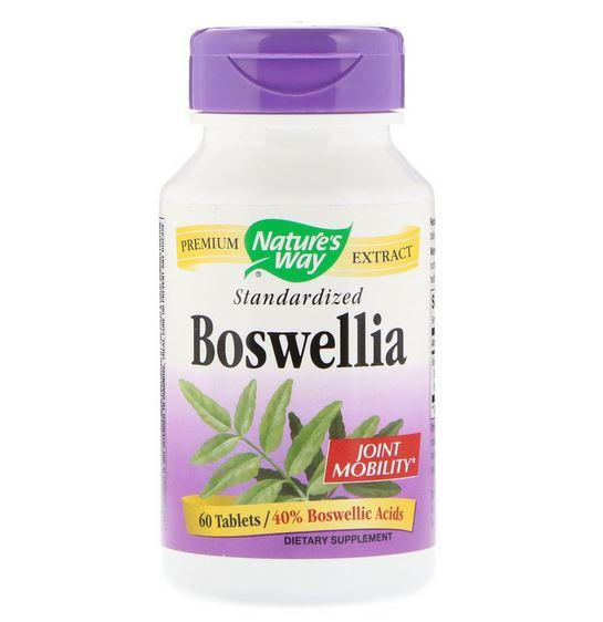 Nature's Way, Boswellia, Standardized, 60 Tablets exp 2021