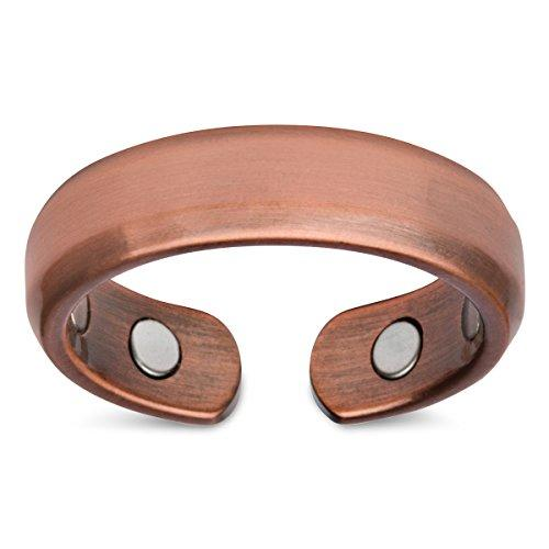 Elegant Pure Copper Magnetic Therapy Ring Pain Relief For Arthritis And Carpal Tunnel By Galleon.ph.