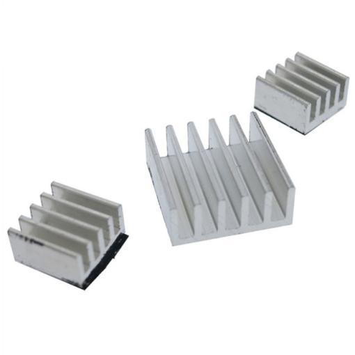 3PCS//set Aluminum Heatsink Cooler for Cooling Raspberry Pi