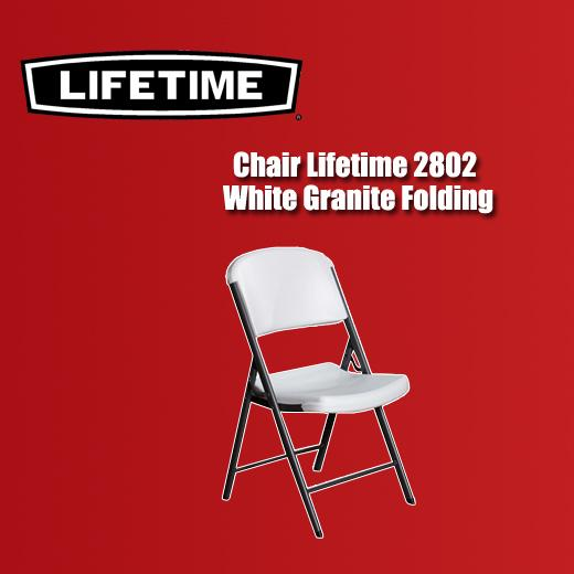 Fabulous Chair Lifetime 2802 White Granite Folding Interior Design Ideas Apansoteloinfo