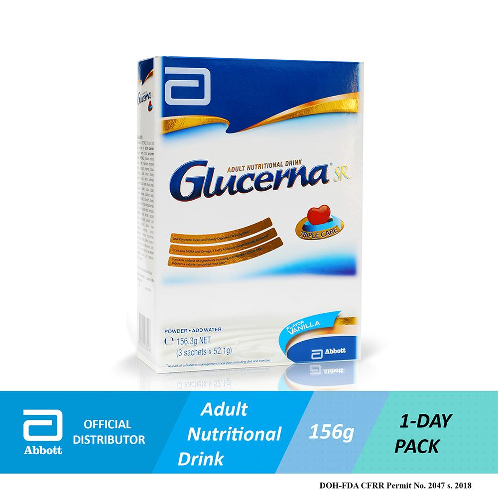Abbott Glucerna Sr Vanilla 156.3g By Abbott Official Online Store By Acommerce Ph.