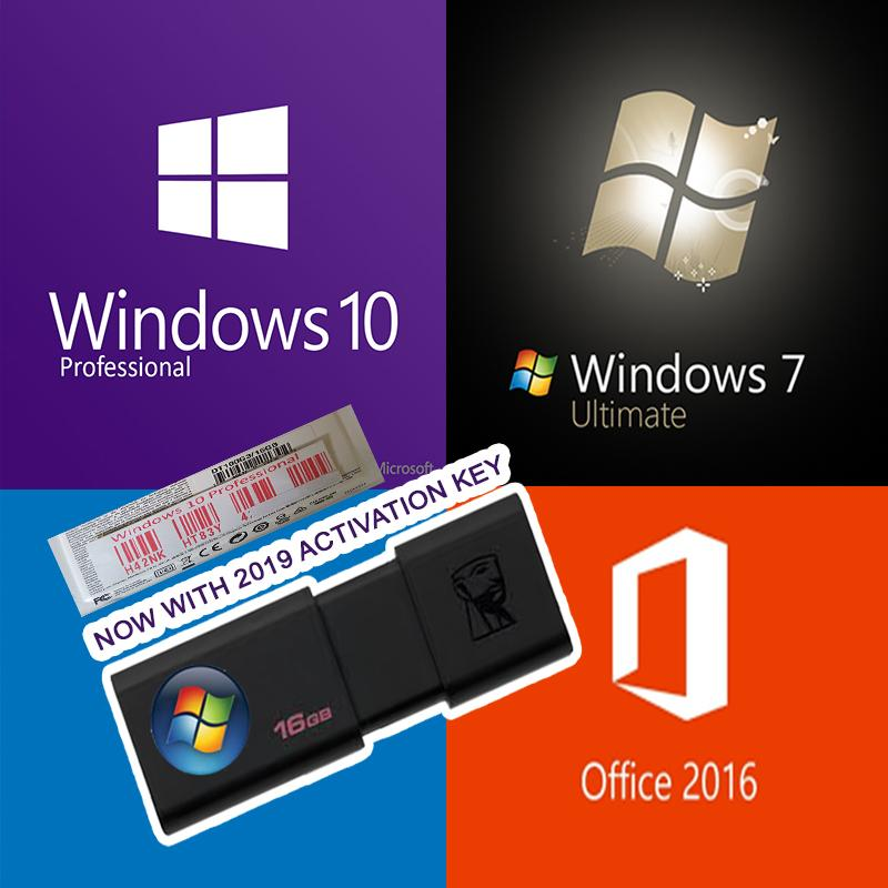 Windows 7 / 10 Usb Pro Installer With Key By Installersph.