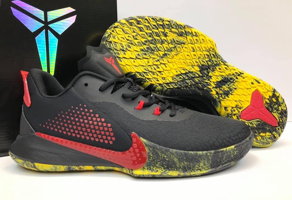Nike Kobe Mamba Fury Black/Red/Yellow
