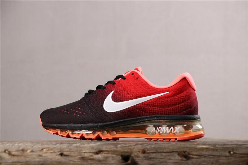 Original Authentic_Nike_Air_Max 2017 Men And Women Shoes Full Palm Air Cushion Cushioning Sports Running Shoes 849559-404 Có Giá Siêu Tốt