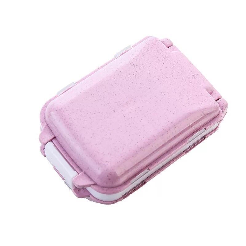 Portable Folding 3 layers Medicine Drug Pill Box