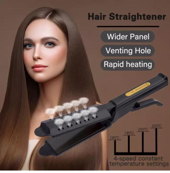 [HCM]Máy duỗi giúp tạo kiểu tóc đẹp không làm hại cho tóc có màn hình đèn LED hiển thị số nhiệt độ kèm cao cấp