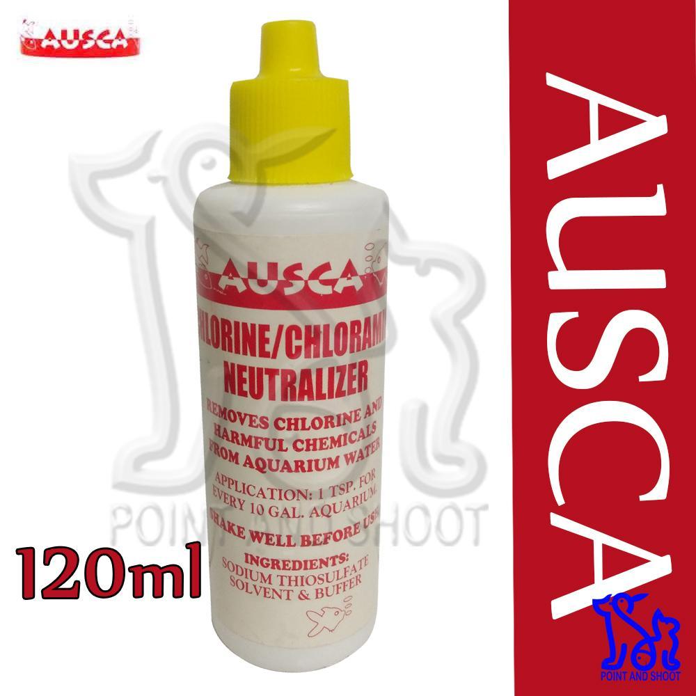Ausca Anti Chlorine / Chloramine Neutralizer 120ml
