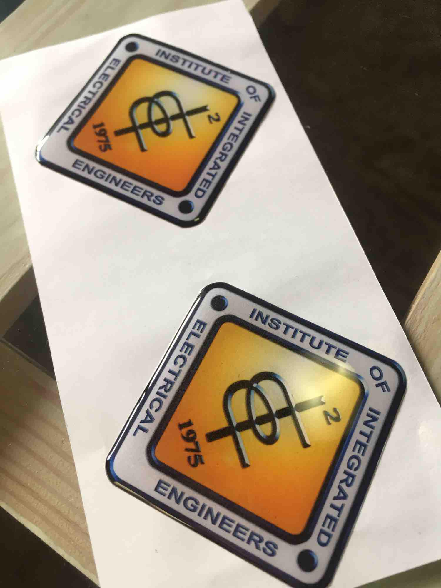 3d Electrical Engineer Emblem By Idyourcar.