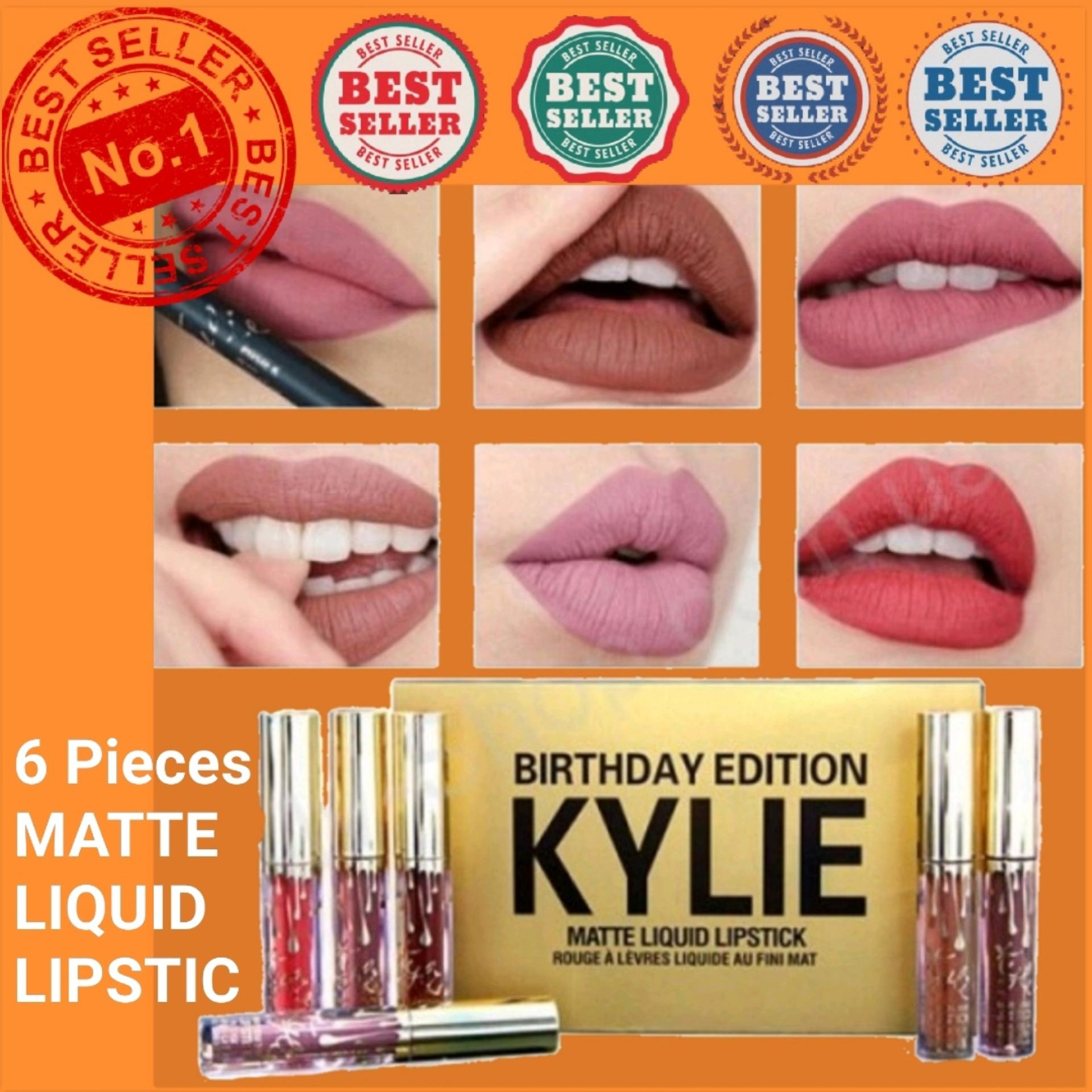 6pcs Kylie Matte Liquid Lipstick