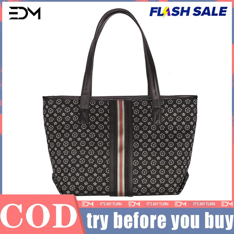 High Capacity Handbag Women Faux Leather Shoulder Cross Body Bag Zipper Color