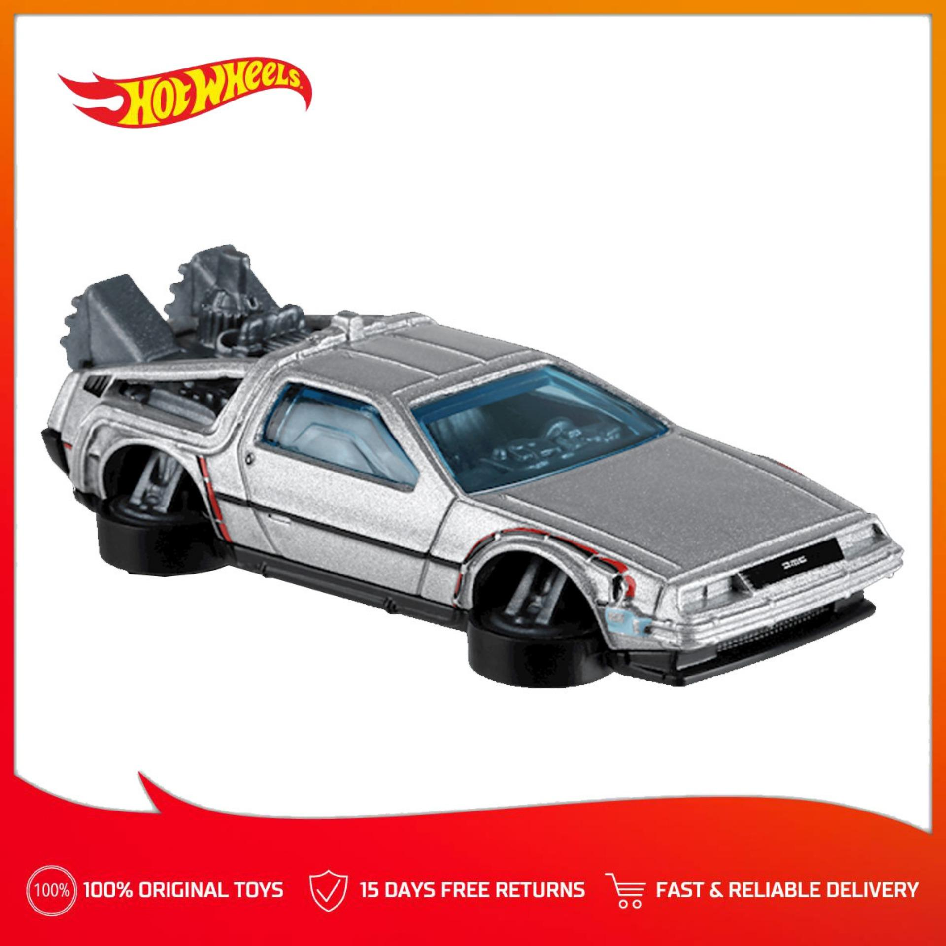 97f2a6618a Hot Wheels Basic Car 1 64 Scale DC  E - Back to the Future