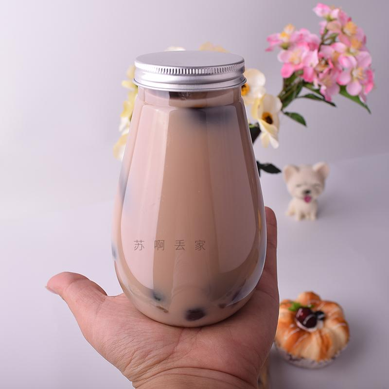 2019 New Style Triangular Beverage Bottle Pet Plastic Fruit Milk Tea Juice Bottle Online Celebrity Take-Out Creative Beverage Bottle By Taobao Collection.