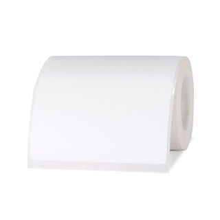Niimbot White Blank Thermal Printing Paper Roll Barcode Price Size Name Label Paper Waterproof Oil-Proof Tear Resistant 70 80mm 95sheets roll for B3S Thermal Printer for Home Organizer Supermarket Warehouse thumbnail