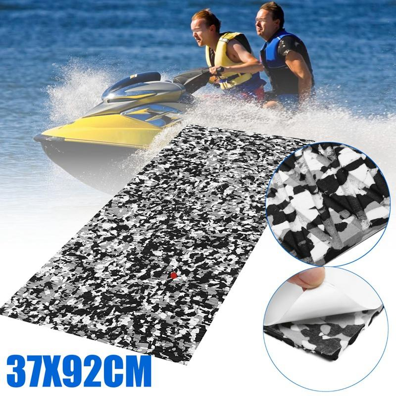 Bảng giá Water Scooter Anti-Skid Marine Floor 92x37Cm Synthetic Eva Foam Board Water Scooter Skid Plate 5Mm - Black Camouflage