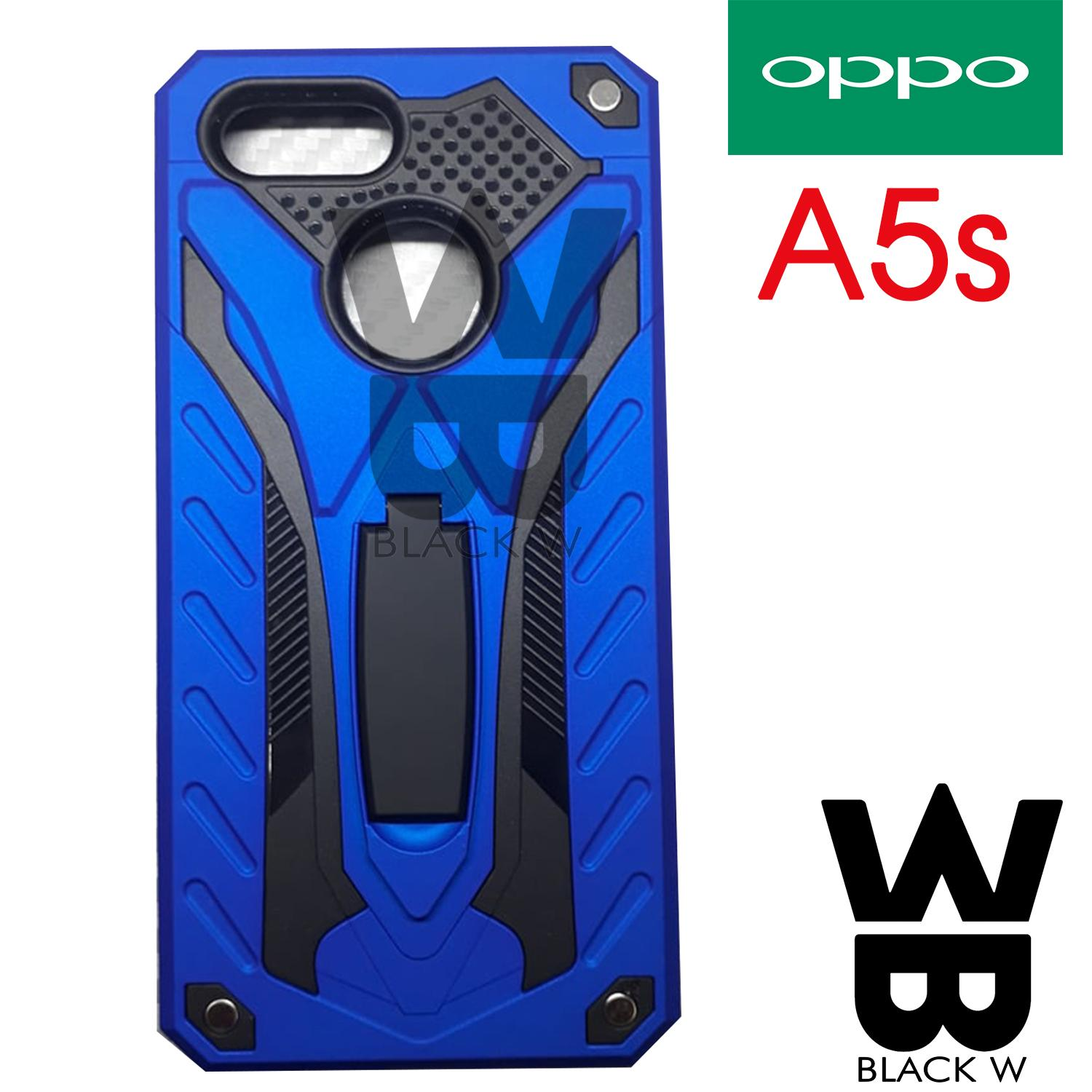 OPPO A5S Robot Armor Case with Stand Shockproof Case