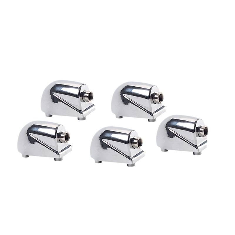 5 Pieces Drum Lugs Hooks Claw for Jazz Drum Set Kit Precussion Parts