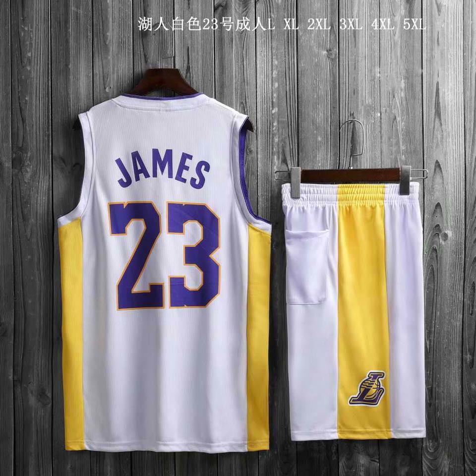 on sale 1b1cc 1312b 8001 NBA BASKETBALL LEBRON JAMES JERSEY AND SHORT SET HIGH QUALITY
