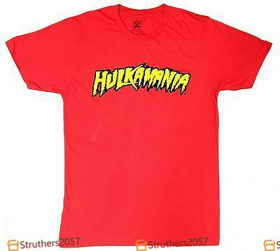 WWE Wrestling HULK HOGAN HULKAMANIA T-Shirt Costume NWT Licensed & Official