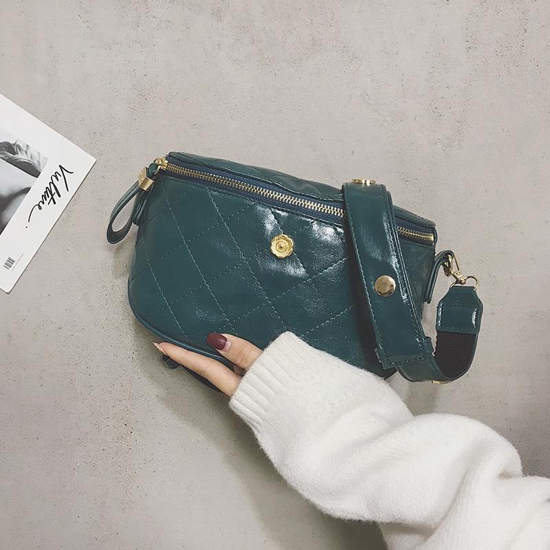 Online Celebrity Small Bag Womens Bag New Style 2019 Popular Summer Fashion Chest Chain Shoulder Bag Versatile INS Wallet