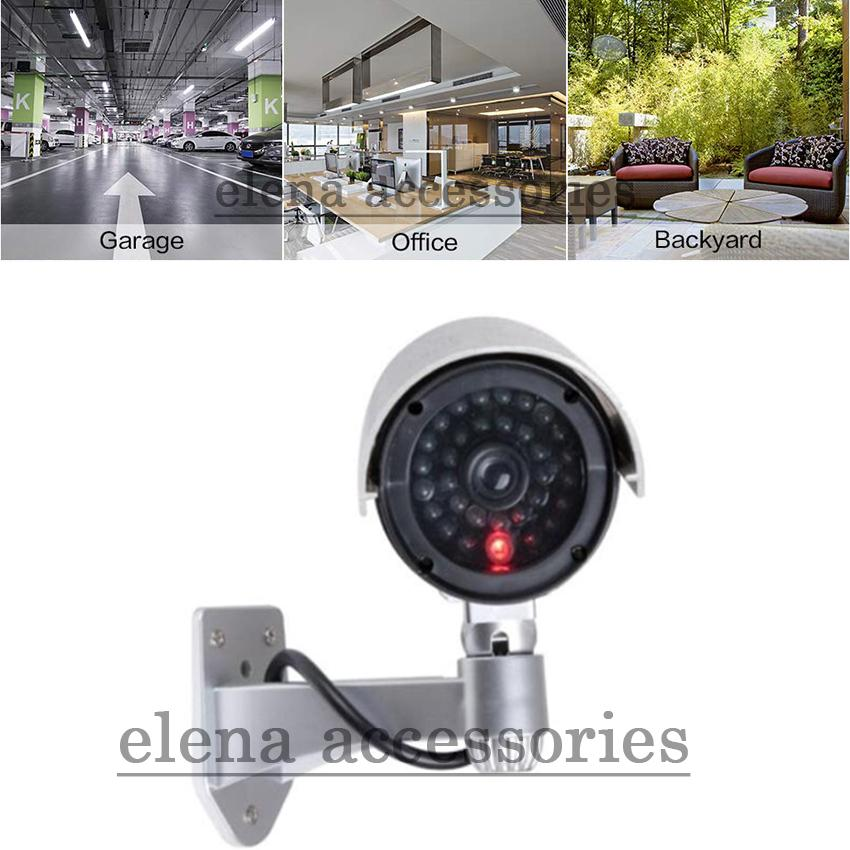 Waterproof Fake CCTV Camera With Flashing LED For Outdoor or Indoor  Realistic Looking fake Camera for Security