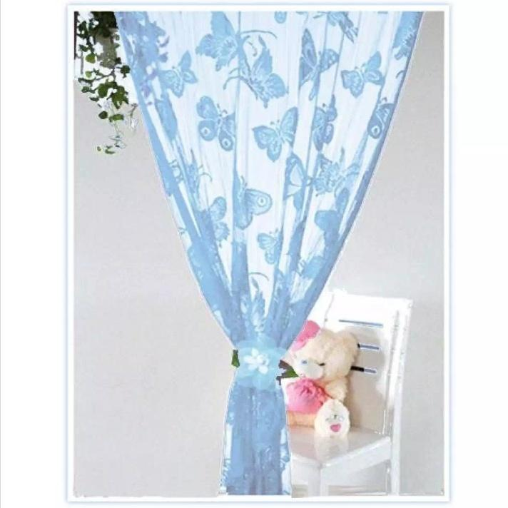 Butterfly String Tassel Curtain 79x39 By One Tree Shop.