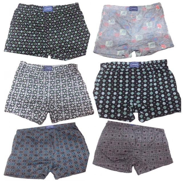6 Pcs Cotton Boxer Short For Teenager By Just Fit You.