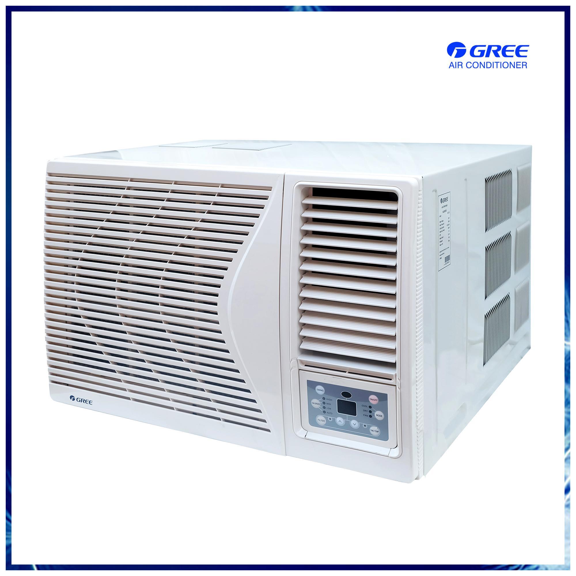 Gree 2 0 Non-Inverter KX-45AP Window Type Airconditioner (Remote)