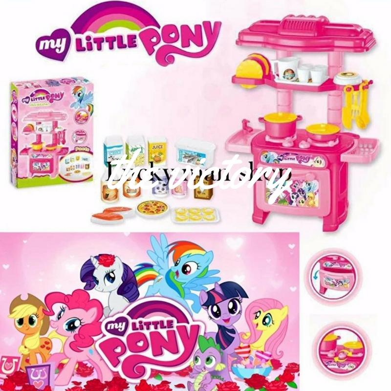Mini Kitchen Toys(my Little Pony) By Skywall.ph.