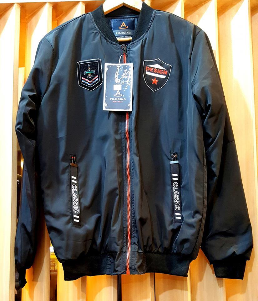 c5494dfb8 Flight Bomber Jacket for Men Army Windbreaker Air Force Flying Autumn New  Pilot Korean Teenager Fashion
