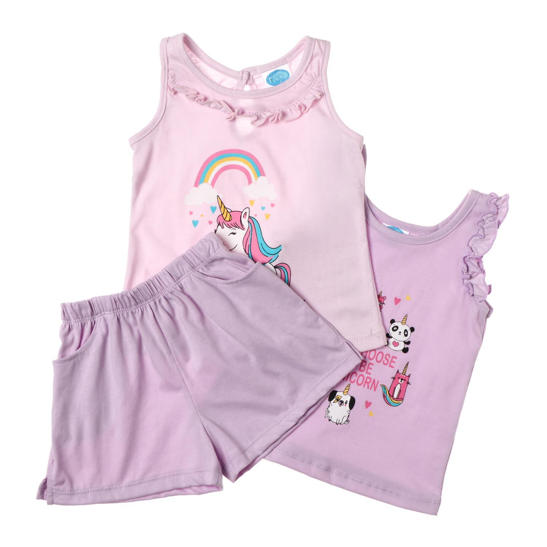2cfc5d07d66af Nap Toddler Girls' Unicorn Clothing Set