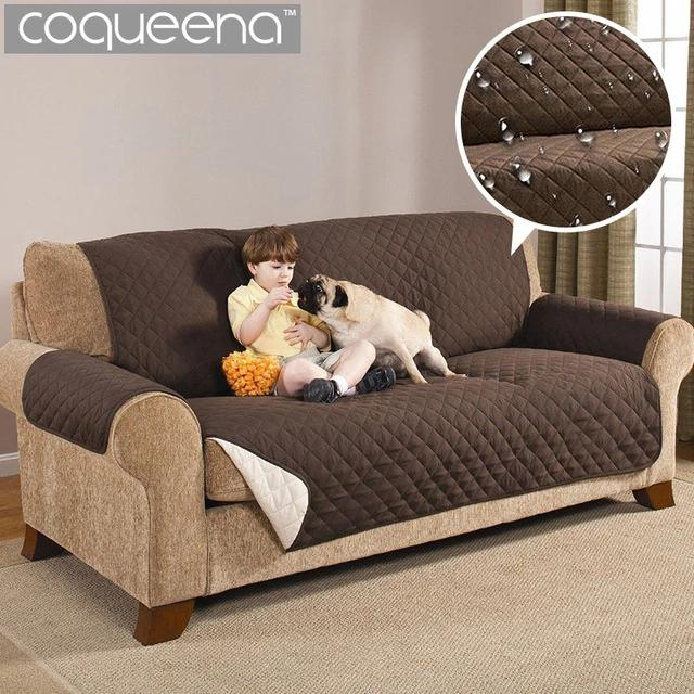 Couch Coat Reversible Sofa Cover (double Seat) By New World Trade.