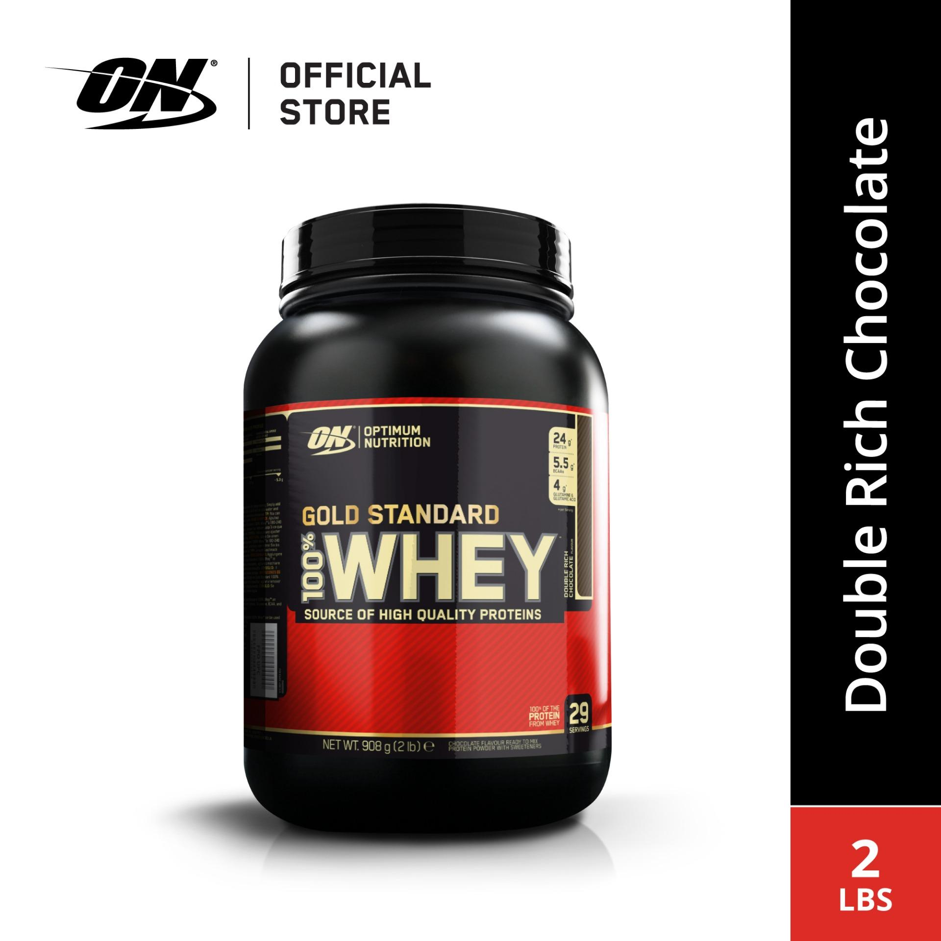 9c8fc0bdd Optimum Nutrition Gold Standard Whey Protein 2 lbs - Double Rich Chocolate