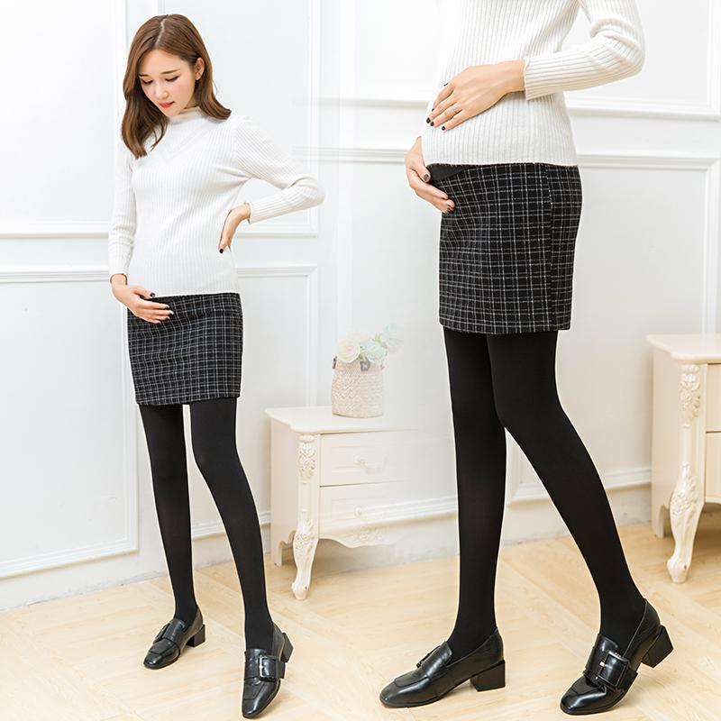 3740a6be93b6f Pregnant Women Skirt Spring And Autumn 2019 New Style Woolen Pregnant Women  Sheath Skirt Spring Abdominal