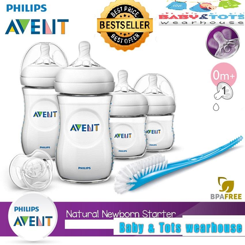 Avent Newborn Starter Set Natural By Baby&tots Wearhouse.