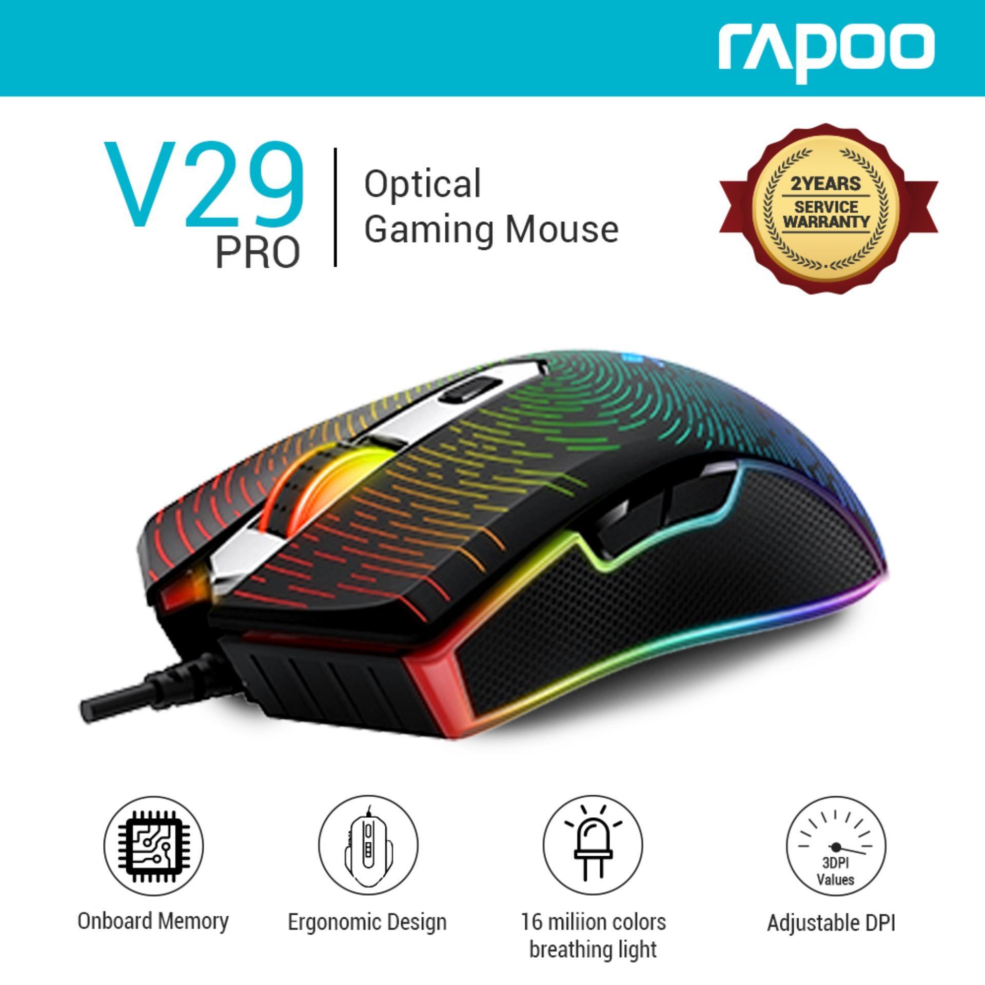 0f34c1097fd Rapoo VPRO V29 DPI 8000 IPS 100 inch/s Pro Middle Level Optical High  Definition