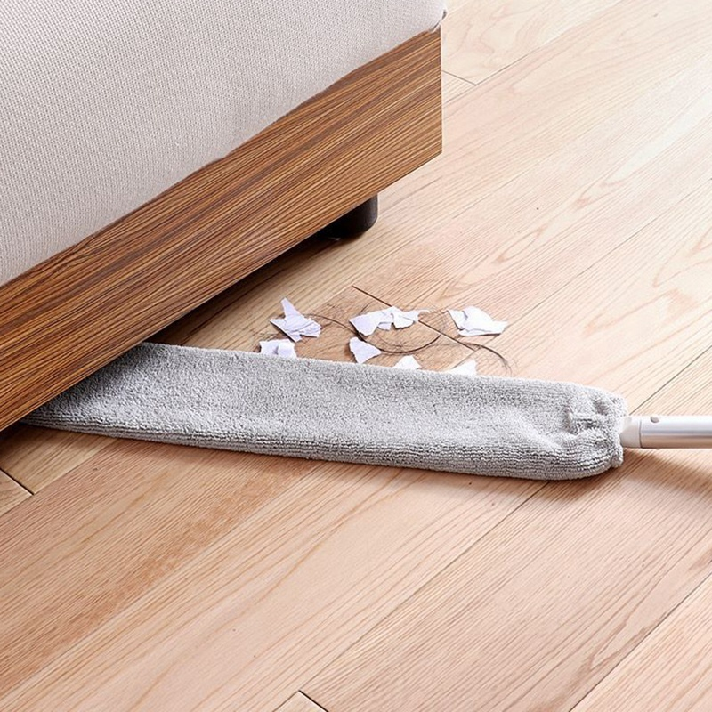 Bedside Dust Brush Long Handle Mop Sweep Artifact Home Bed Clean space Bottom Household Clean Sweeping Dusty