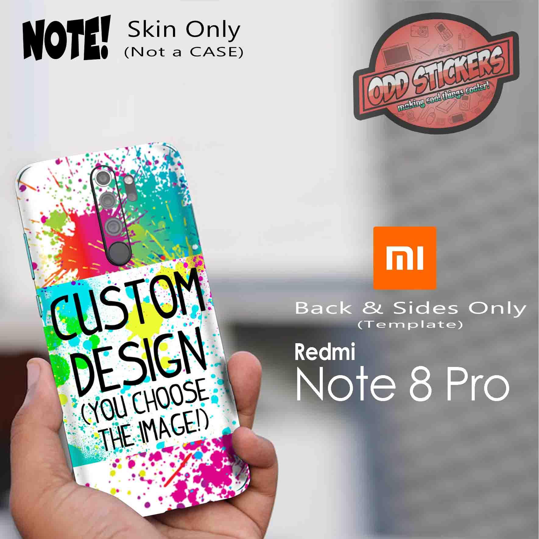 Xiaomi Redmi Note 8 Pro Custom Skin Wrap Cover By Oddstickers Lazada Ph