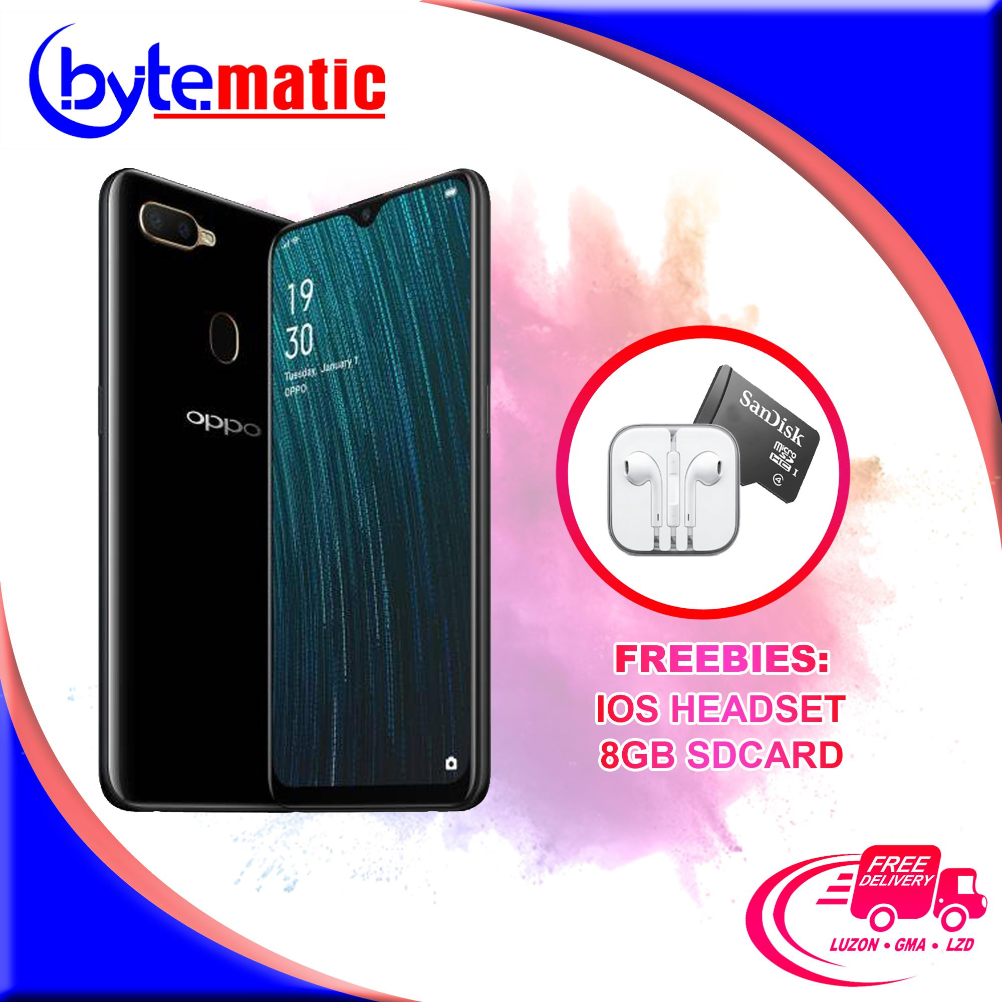 Oppo A5s (3GB RAM / 32GB ROM) with FREE HSIOS and 8GB SDCARD