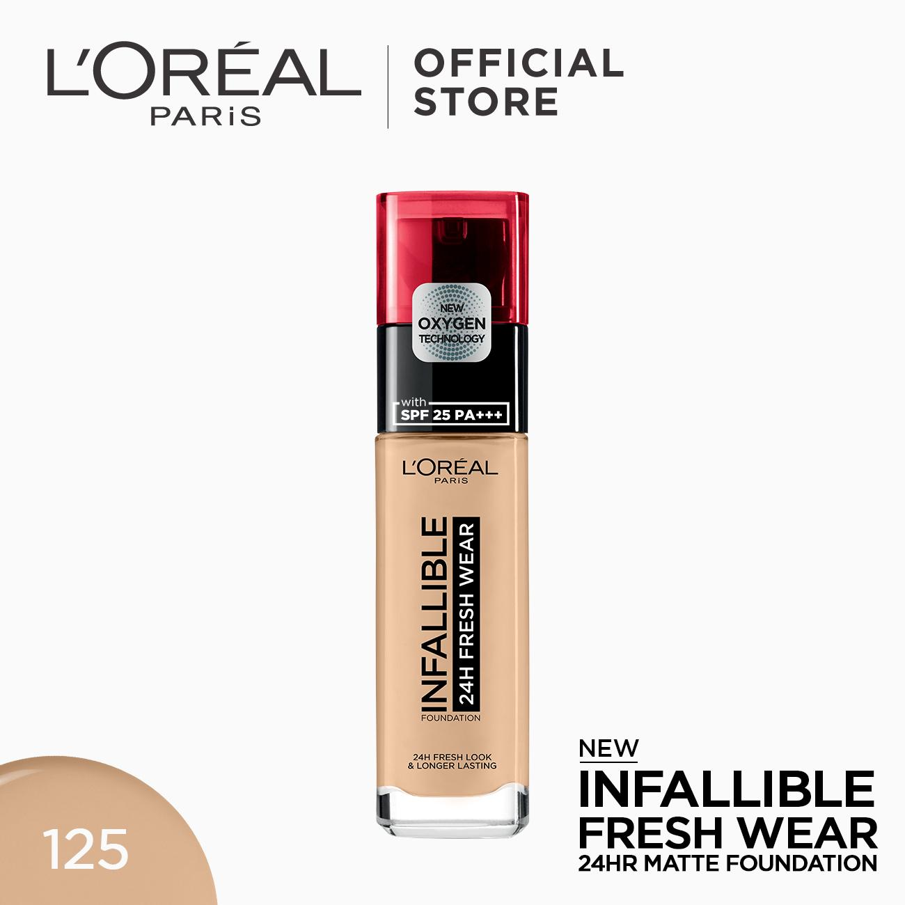 Infallible 24HR Fresh Wear Foundation by L'Oreal Paris