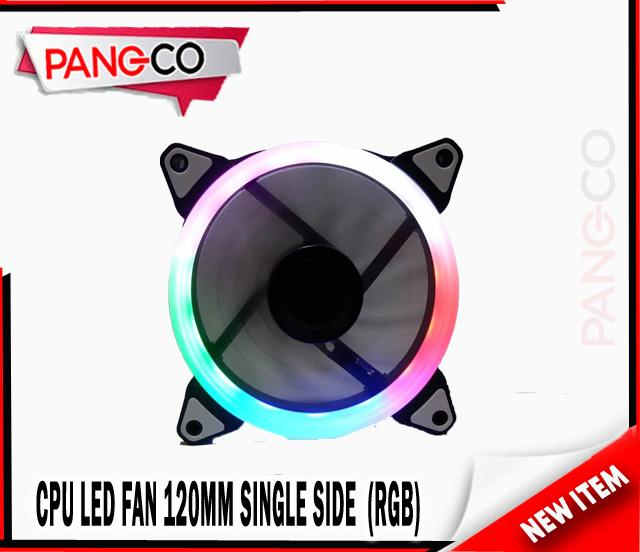 120mm Case Chassis Cooling Ring LED Fan (RGB)