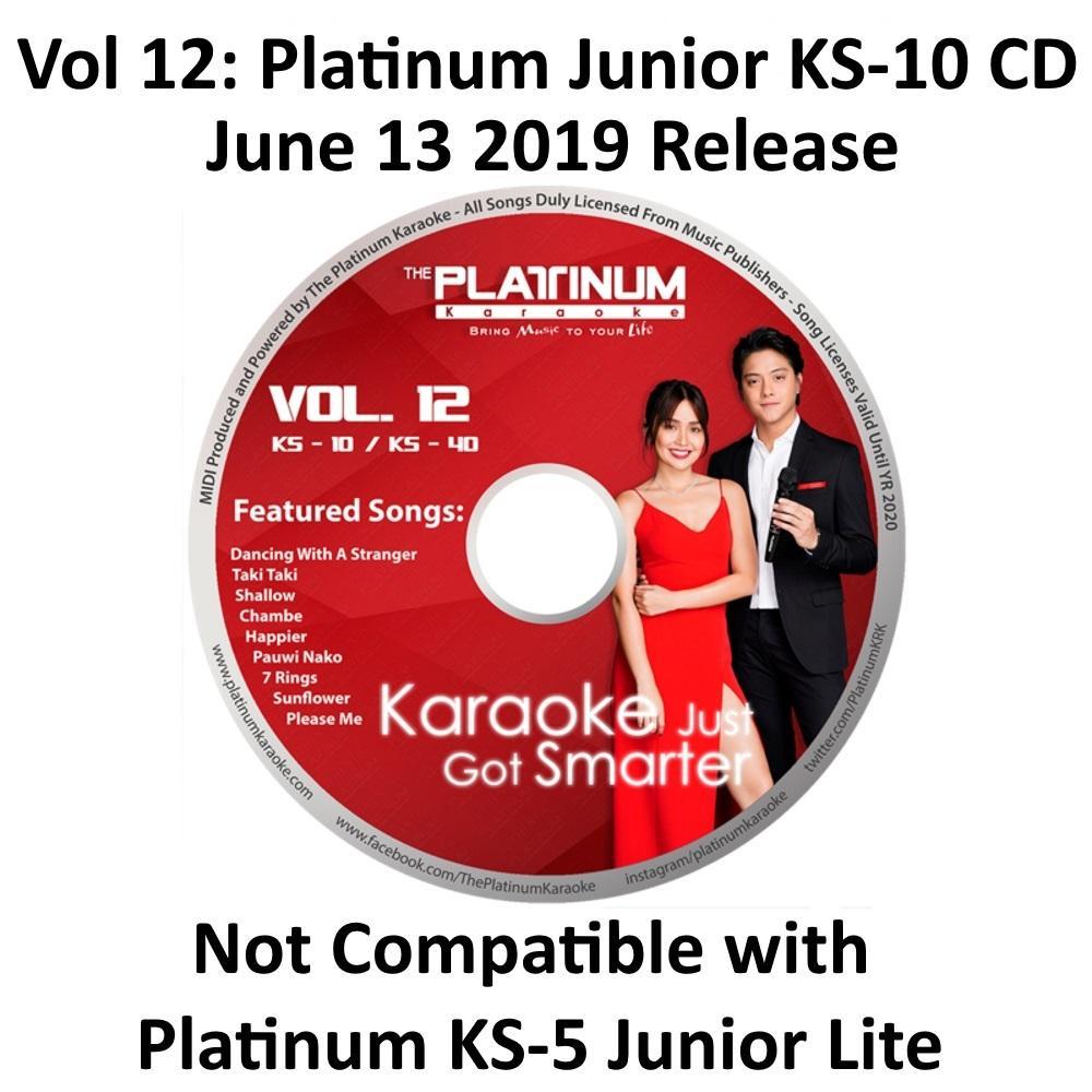 Platinum Junior KS-10 / Junior 2 KS-10+: Volume 12 CD (June 13, 2019  Release)