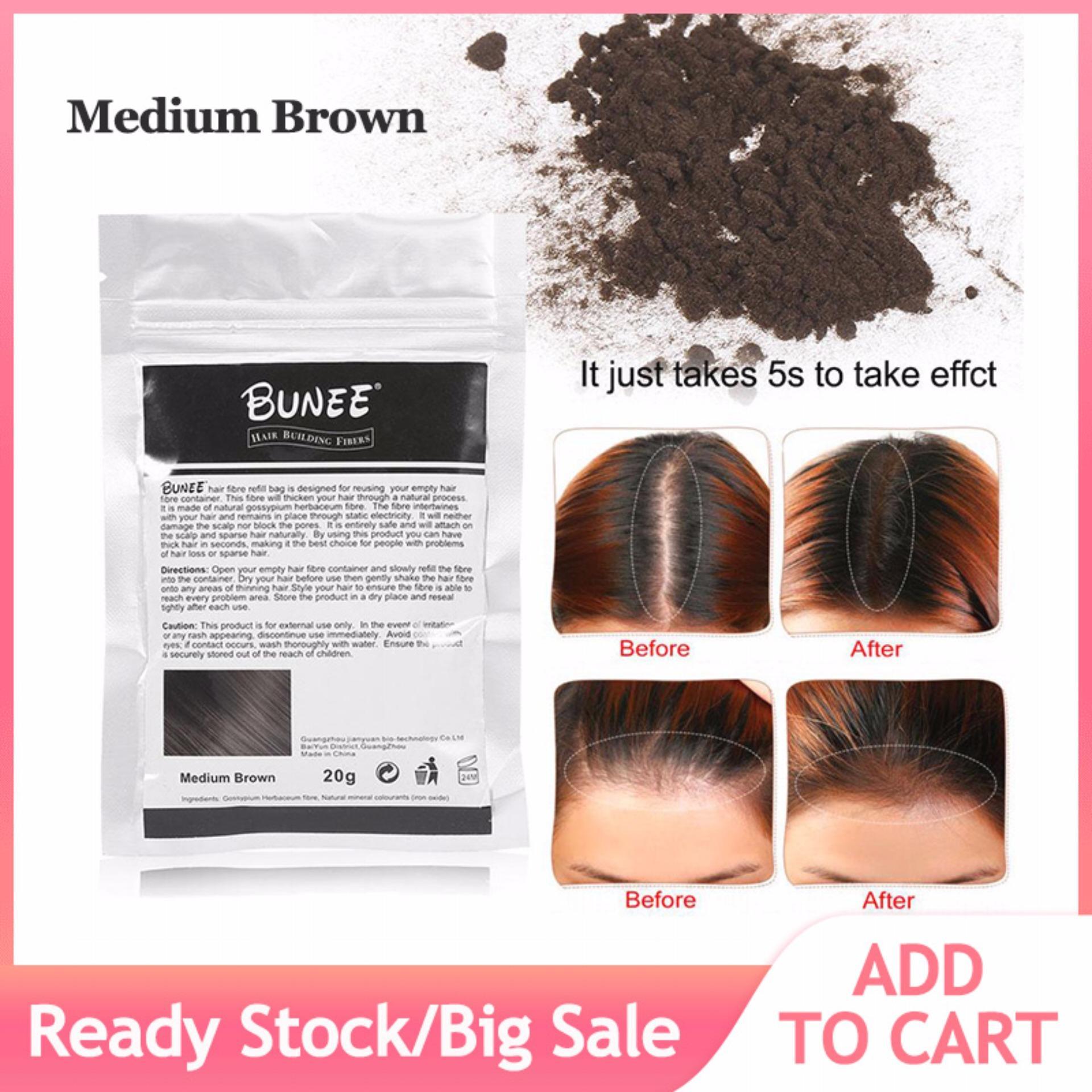 Hair Building Fiber Hair Thickener Hair Loss Solution Concealer Fuller Denser Hair Beauty Tools - intl