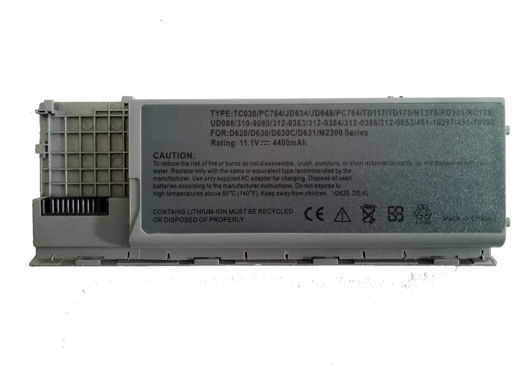 Dell Latitude D620 D630 D631 M2300 PC764 TC030 Laptop Battery